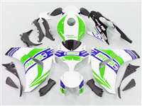 2008-2011 Honda CBR 1000RR White/Purple Castrol Motorcycle Fairings | NH10811-52