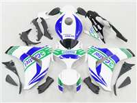 2008-2011 Honda CBR 1000RR White/Blue Castrol Motorcycle Fairings | NH10811-53