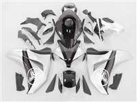 2008-2011 Honda CBR 1000RR Two Brothers Silver/Charcoal Fairings | NH10811-57