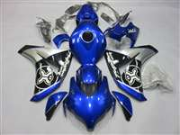 2008-2011 Honda CBR 1000RR Blue Two Bros. Fairings | NH10811-64