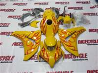 2008-2011 Honda CBR 1000RR Yellow Fire Fairings | NH10811-67