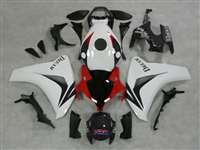2008-2011 Honda CBR 1000RR White/Red OEM Style Fairings | NH10811-7