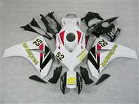 2008-2011 Honda CBR 1000RR Hannspree Red Fairings | NH10811-9