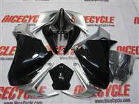 2010-2015 Honda VFR 1200F Black Fairings | NH11016-2