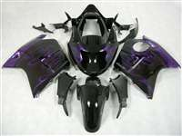 Honda CBR 1100XX Blackbird Purple Flames Fairings | NH19607-5