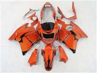 Honda CBR 1100XX Blackbird Tribal Orange Fairings | NH19607-7