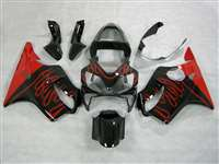 2001-2003 Honda CBR 600 F4i Red/Black OEM Style Fairings | NH60103-1