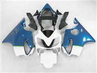 Blue Fade White 2001-2003 Honda CBR 600 F4i Motorcycle Fairings | NH60103-14