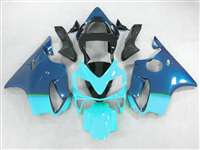 2001-2003 Honda CBR 600 F4i Blue Fade Teal Fairings | NH60103-15