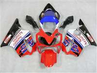 2001-2003 Honda CBR 600 F4i Red Nastro Azzuro Fairings | NH60103-17