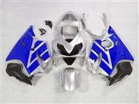 2001-2003 Honda CBR 600 F4i Silver/Blue Fairings | NH60103-19