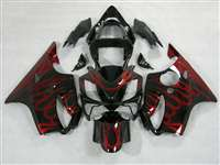 2001-2003 Honda CBR 600 F4i Red/Black Fairings | NH60103-26