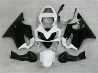 Black/White 2001-2003 Honda CBR 600 F4i Motorcycle Fairings | NH60103-30