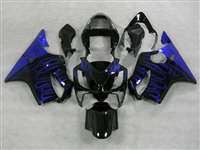 2001-2003 Honda CBR 600 F4i Electric Blue Flame Fairings | NH60103-32