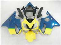 Blue/Yellow 2001-2003 Honda CBR 600 F4i Motorcycle Fairings | NH60103-33