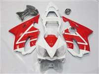 2001-2003 Honda CBR 600 F4i White/Red Fairings | NH60103-35