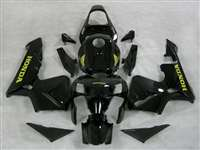Metallic Black 2003-2004 Honda CBR 600RR Motorcycle Fairings | NH60304-51