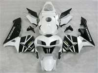 2003-2004 Honda CBR 600RR White/Black Fairings | NH60304-54