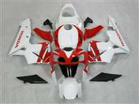 2003-2004 Honda CBR 600RR White/Red OEM Style Fairings | NH60304-58