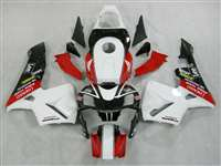 Race Sponsored 2003-2004 Honda CBR 600RR Motorcycle Fairings | NH60304-62