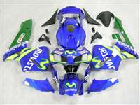 Movistar 2003-2004 Honda CBR 600RR Motorcycle Fairings | NH60304-66