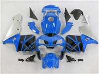 2003-2004 Honda CBR 600RR Blue/Silver/Black Fairings | NH60304-69