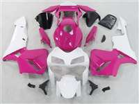 2003-2004 Honda CBR 600RR Pink/White Fairings | NH60304-71