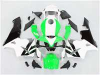 2003-2004 Honda CBR 600RR Bright Green/White Fairings | NH60304-73