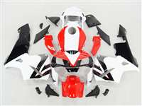 2003-2004 Honda CBR 600RR Bright Red/White Fairings | NH60304-74