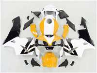 2003-2004 Honda CBR 600RR Bright Yallow/White Fairings | NH60304-75