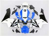 2003-2004 Honda CBR 600RR Bright Blue/White Fairings | NH60304-76
