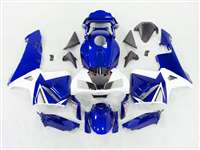 Metallic Ice Blue 2003-2004 Honda CBR 600RR Motorcycle Fairings | NH60304-81