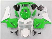 2003-2004 Honda CBR 600RR Killer Green/White Fairings | NH60304-83