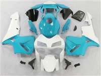 2003-2004 Honda CBR 600RR Super Blue/White Fairings | NH60304-84