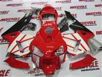 2003-2004 Honda CBR 600RR Red/White Fairings | NH60304-85