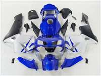 2003-2004 Honda CBR 600RR Deep Blue/Silver Fairings | NH60304-93