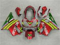 2004-2006 Honda CBR 600 F4i Candy Red Movistar Fairings | NH60406-12