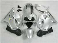 2004-2006 Honda CBR 600 F4i Pure Silver Fairings | NH60406-19