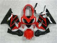 Red/Black 2004-2006 Honda CBR 600 F4i Motorcycle Fairings | NH60406-25