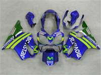 2004-2006 Honda CBR 600 F4i Race Movistar Fairings | NH60406-26