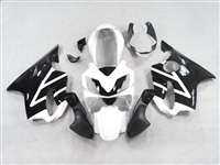 White/Black 2004-2006 Honda CBR 600 F4i Motorcycle Fairings | NH60406-29