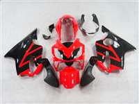 Red/Black 2004-2006 Honda CBR 600 F4i Motorcycle Fairings | NH60406-30