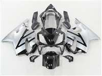 Black/Silver 2004-2006 Honda CBR 600 F4i Motorcycle Fairings | NH60406-33