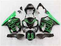 2004-2006 Honda CBR 600 F4i Fire Green Fairings | NH60406-36