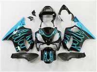 2004-2006 Honda CBR 600 F4i Fire Blue Fairings | NH60406-37