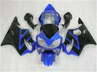 Blue/Black 2004-2006 Honda CBR 600 F4i Motorcycle Fairings | NH60406-4