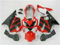 Red/Black 2004-2006 Honda CBR 600 F4i Motorcycle Fairings | NH60406-5