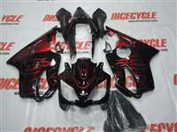 2004-2006 Honda CBR 600 F4i Fire Red Fairings | NH60406-8