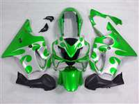 2004-2006 Honda CBR 600 F4i Tribal Green Fairings | NH60406-9