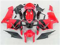 2005-2006 Honda CBR 600RR Neon Red Fairings | NH60506-100